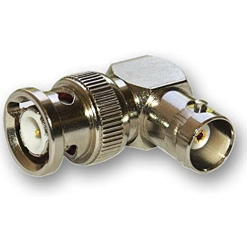 Male - Female Right Angled BNC Coupler