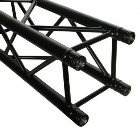 DuraTruss DT 34/2 Square Black Truss 1m