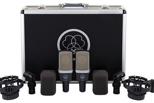 AKG C214 Large-Diaphragm Condenser Microphone (Balanced Pair)
