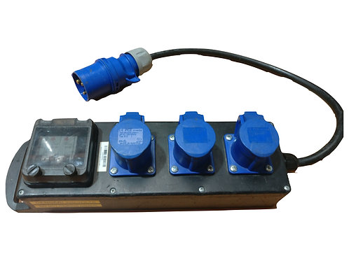 Distro Box 32a/1 to 3 x 16a/1