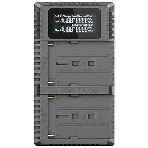 Nitecore USN3 PRO dual slot usb charger