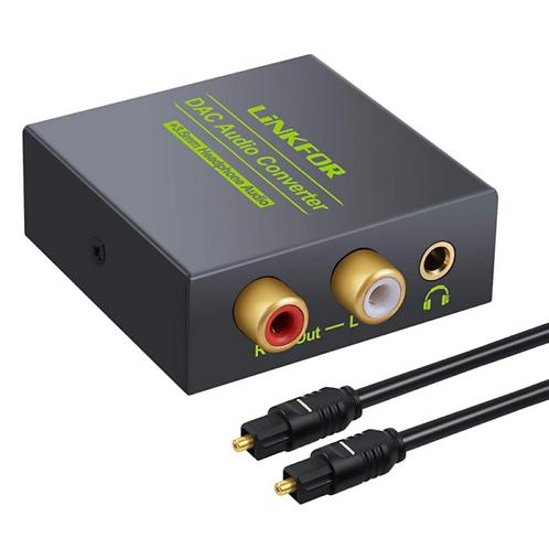 LiNKFOR DAC Audio Converter (Optical)