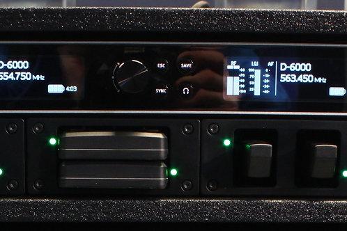 Sennheiser D6000 2 Channel Receiver Rack