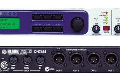 Klark Teknik DN7454 Multiprocessor