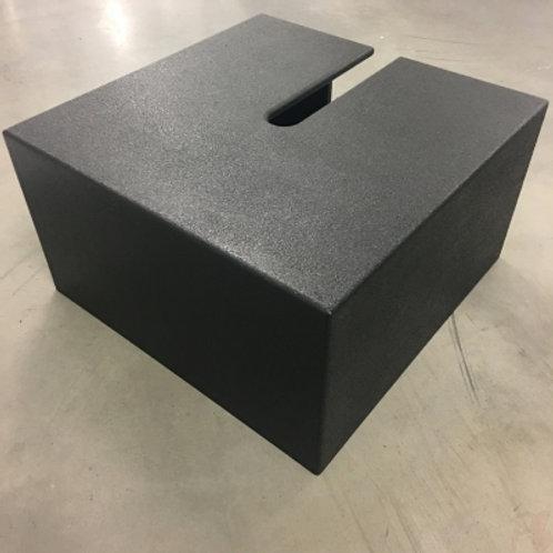 Tank Trap Surround 0.6m x 0.6m Black