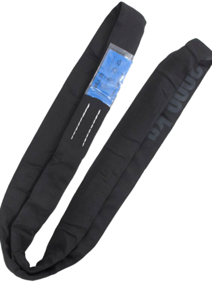 R-wire 2t steel core black roundsling EWL 1.5m