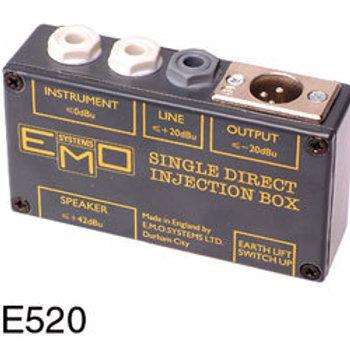 EMO E520 DI BOX Passive, 1 channel, with earth lift