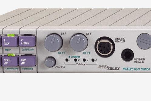 RTS MCE325 User Station