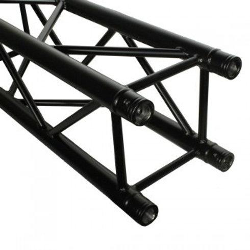 DuraTruss DT 34/2 Square Black Truss 0.5m