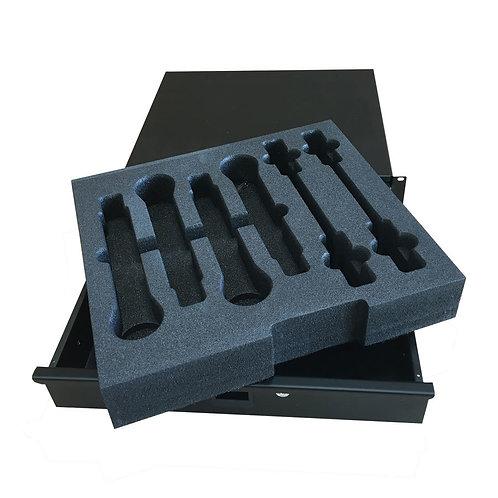 PD 2U Foam Lined Rack Drawer