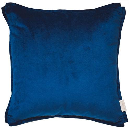 Cojín felpa XL azul 60x60cm