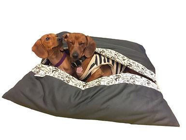 cama saco para mascotas
