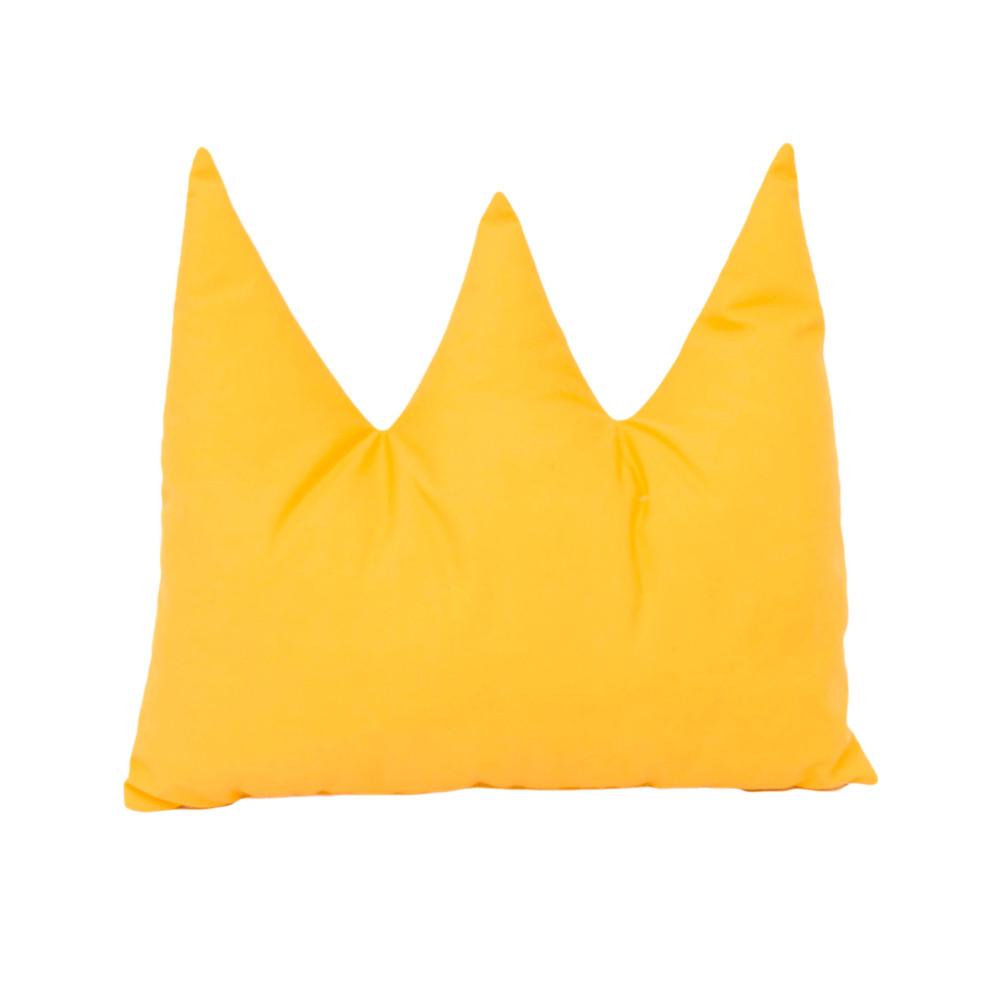 cojín corona chile amarillo