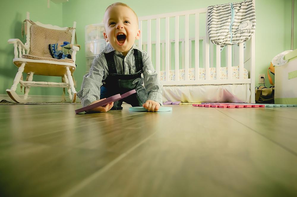 colores estimulantes para bebés