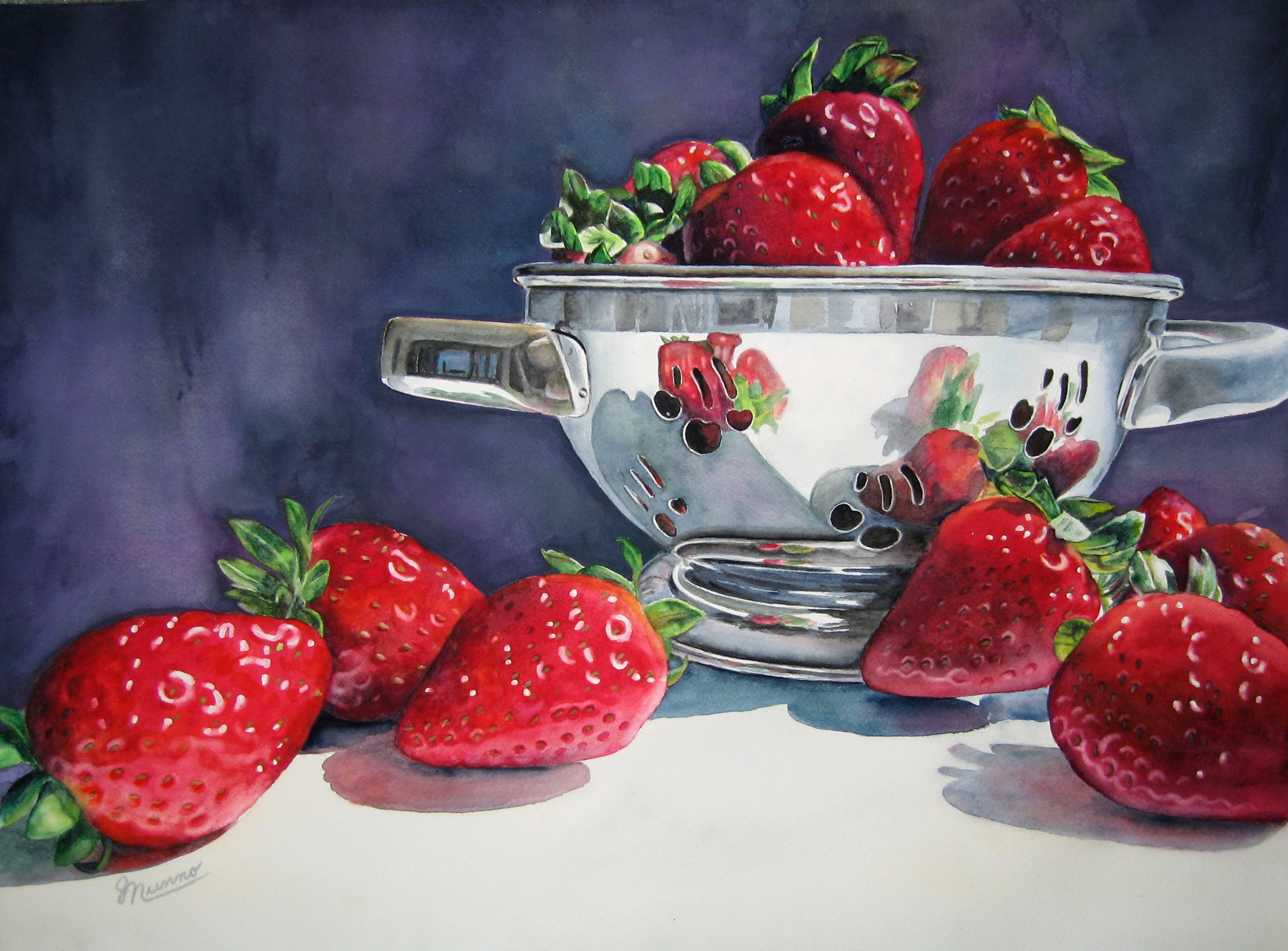Strawberry Reflections