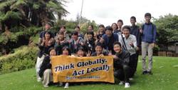 中学生海外派遣事業