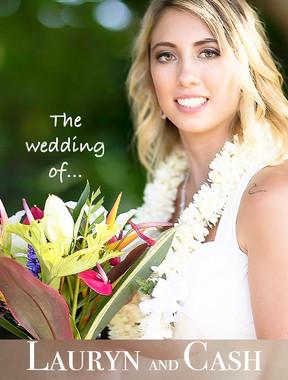 Lauryn and Cash Wedding in Kauai
