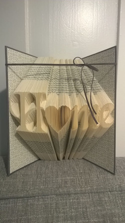 Buch-Origami