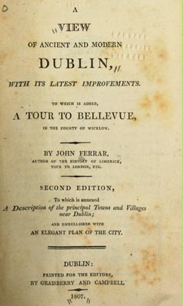 John Ferrar View of ancient & modern Dub