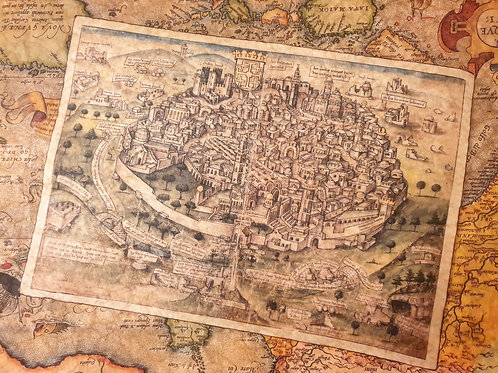 Jerusalem, Konrad von Grünenberg, 1487