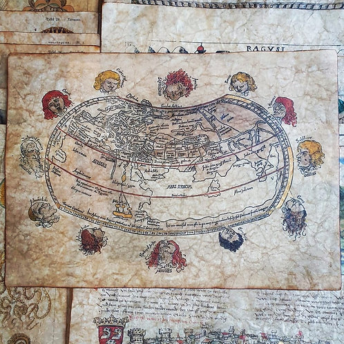 Untitled Ptolemaic map by Gregor Reisch, 1503