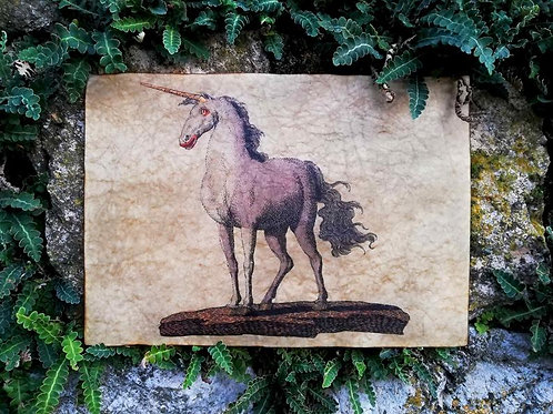 Unicorn by Friedrich Justin Bertuch, 1806