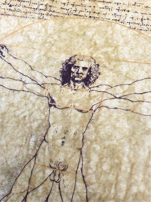 Vitruvian Man by Leonardo da Vinci, 1487