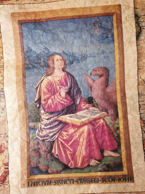 John the Baptist, Jean Bourdichon, 1503
