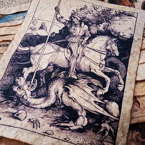 Saint George and the Dragon, 1504.