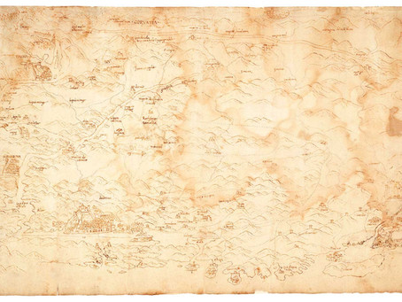 The oldest map of Croatia found in the State Archive of Venice