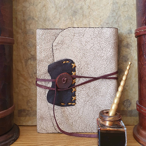 Leather-bound journal