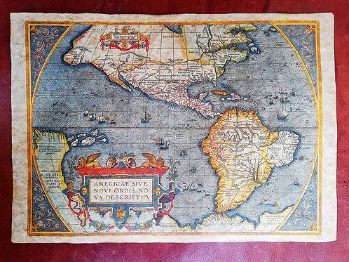 The Americas by Abraham Ortelius, 1570