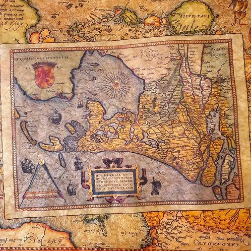Holland, Abraham Ortelius, 1570