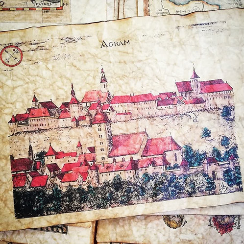 Zagreb 1689, Johann Weikhard von Valvasor