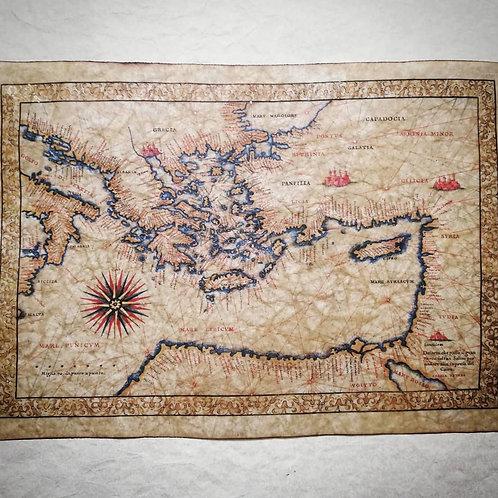 Eastern Mediterranean Sea by Francesco Ghisolfi, 16th century