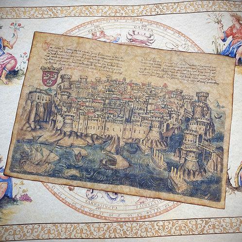 Dubrovnik, Konrad von Grünenberg, 1487
