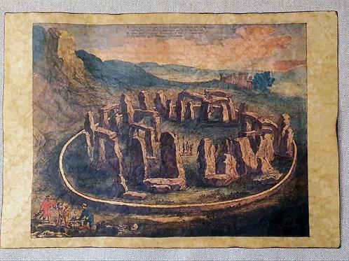 Stonehenge by Johannes Blaeu, 1660.