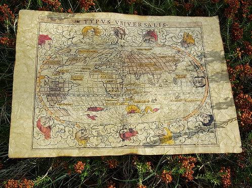 Typus Universalis, Sebastian Munster, 1542