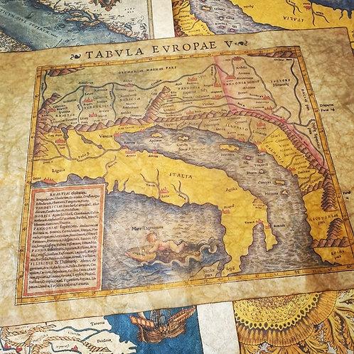 Tabvla Evropae V, Sebastian Munster, 1552