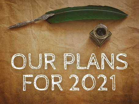 Our plans for 2021