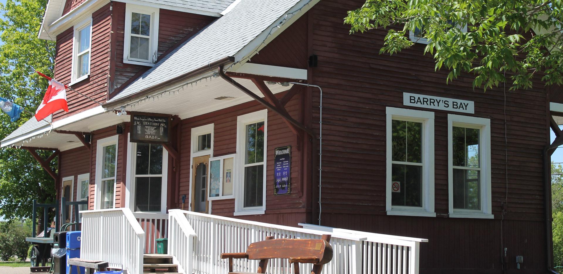 Barrys Bay Tourist Info Building.JPG