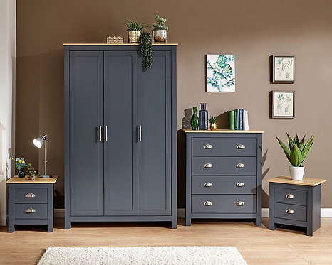 LANCASTER 4 Piece Bedroom Set