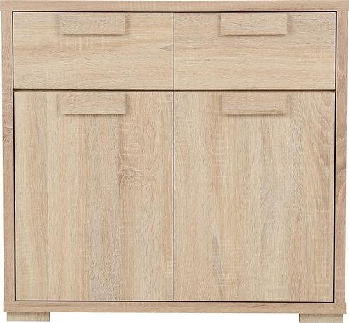 Cambourne 2 Door 2 Drawer Sideboard in Sonoma Oak Effect Veneer