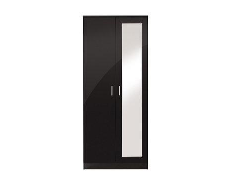 OTTAWA 2 Door Wardrobe with Mirror