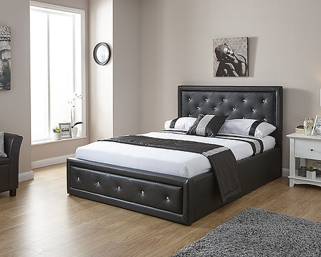 HOLLYWOOD Gas Lift Storage Bedstead