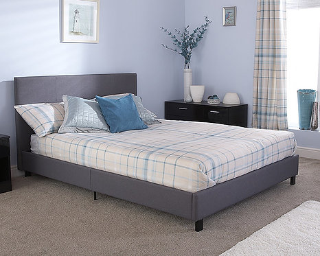 BED IN A BOX Fabric Bedstead