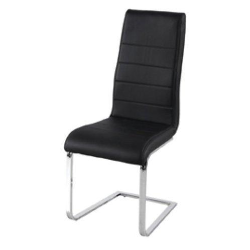 EVOLVE DINING CHAIR BLACK
