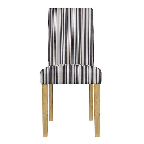 LORENZO DINING CHAIR STRIPED