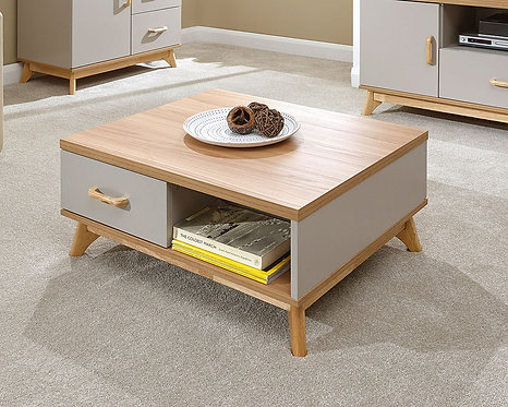NORDICA 2 Drawer Coffee Table