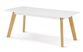 Belgium Rectangle Coffee Table White